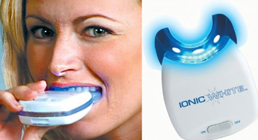 Woman using Ionic White™